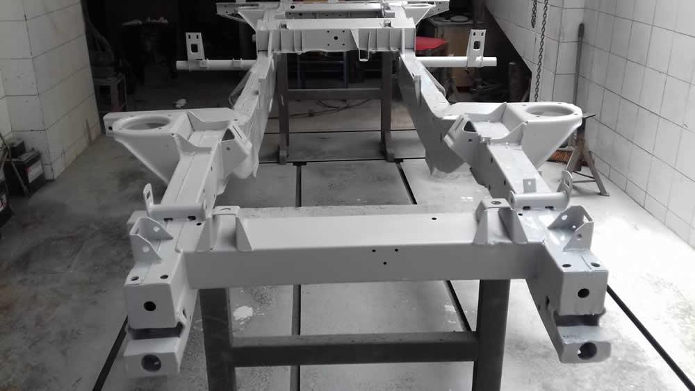 Land Rover 90 - ανακατασκευή - Συνεργείο Ρουμπάνης