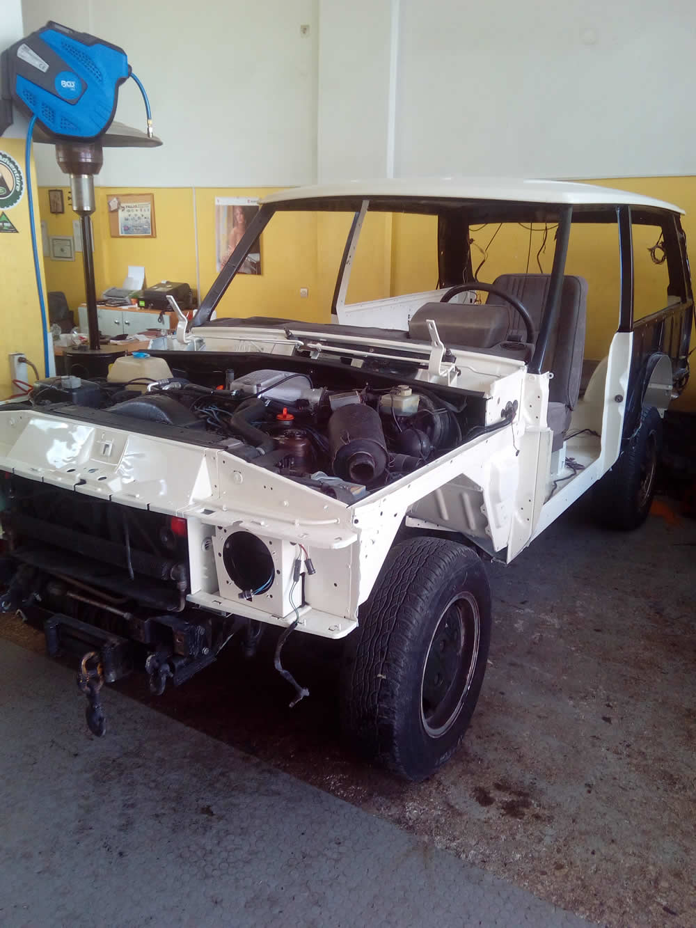 Range Rover - ανακατασκευή
